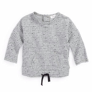 "Miles Baby ""From the Block"" Splashed Sweater Sweat shirt - Bloom Kids Collection - Miles Baby"