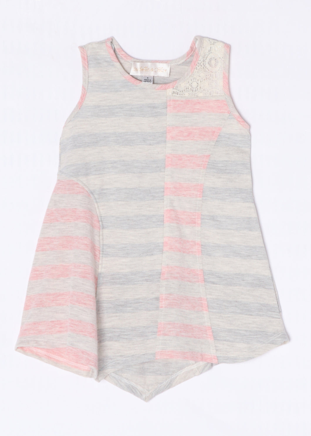 Isobella and Chloe Sweet Savannah Top - Bloom Kids Collection - Isobella & Chloe
