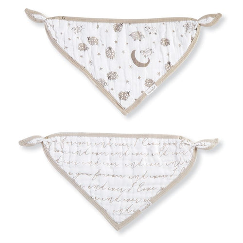 Mud Pie Counting Sheep Bandana Bibs