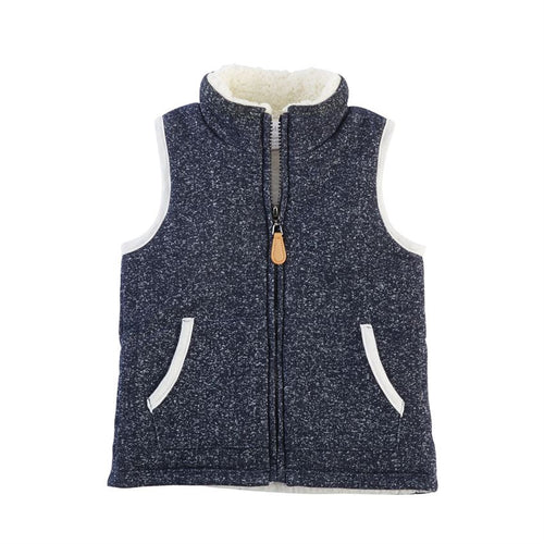 Mud Pie Navy Vest