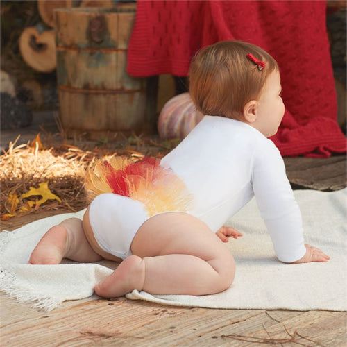 Mud Pie Turkey Tutu Crawler - Bloom Kids Collection - Mud Pie