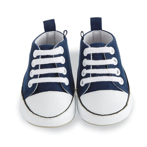 Mud Pie Prewalker Shoe - Blue - Bloom Kids Collection - Mud Pie