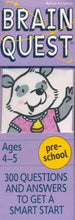 Brain Quest - Preschool - Bloom Kids Collection - Workman Publishing Co.