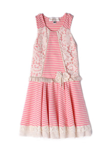 Isobella and Chloe Sweet Pea Dress - Bloom Kids Collection - Isobella & Chloe