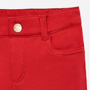 Mayoral Fleece Basic Trousers - Red - Bloom Kids Collection - Mayoral