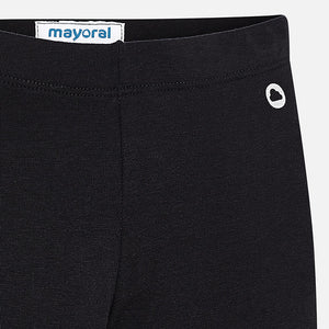 Mayoral Elastane Basic Leggings - Black - Bloom Kids Collection - Mayoral