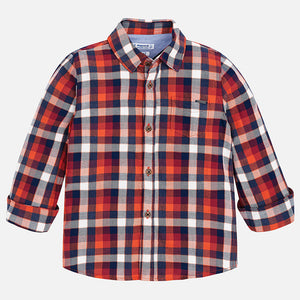 Mayoral Checked Shirt - Bengala - Bloom Kids Collection - Mayoral