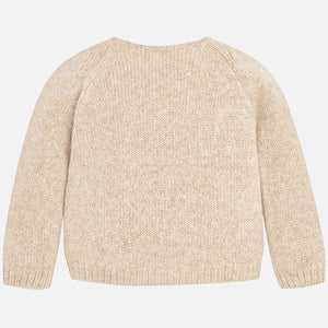 Mayoral Gloss Sparkly Sweater - Earth - Bloom Kids Collection - Mayoral