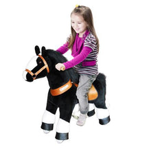 Ponycycle Ride On Black Horse - Bloom Kids Collection - PonyCycle