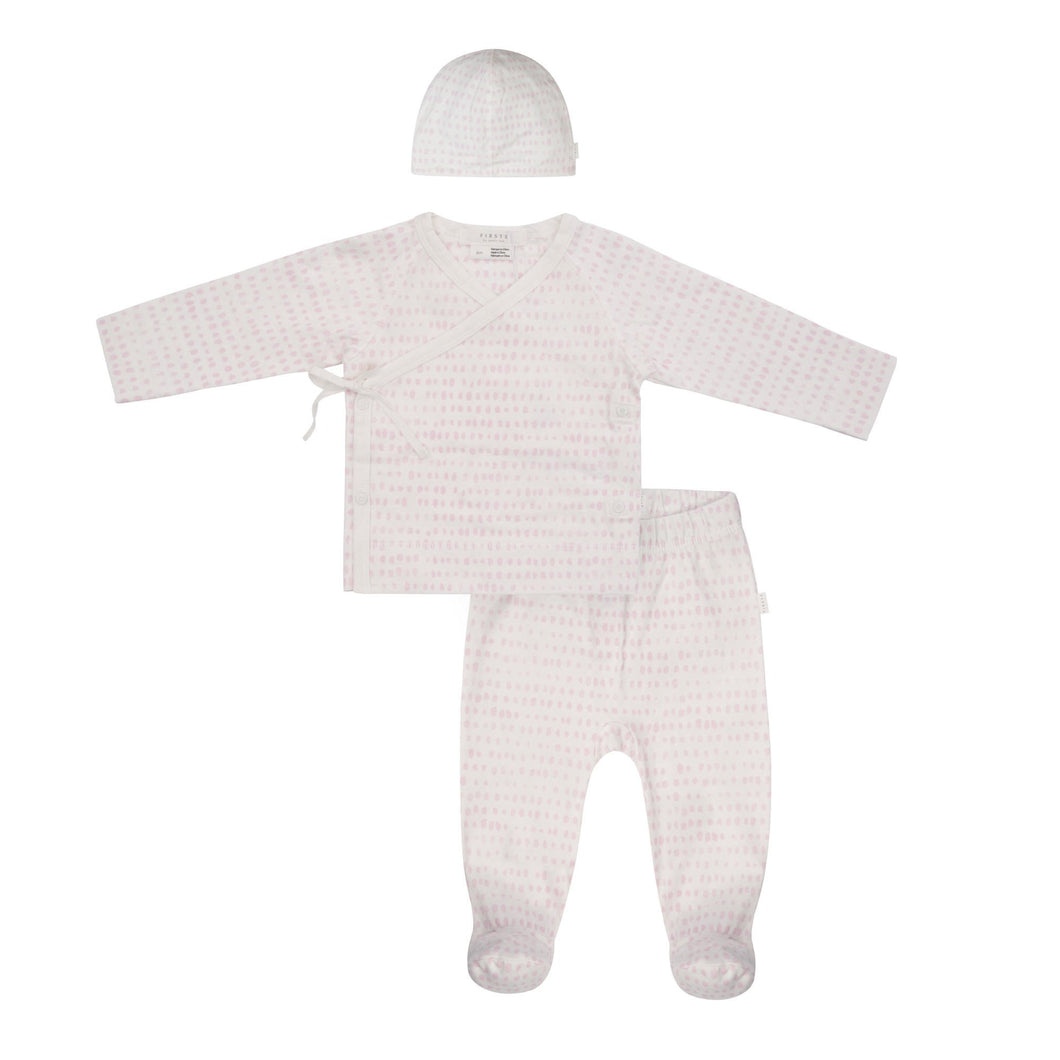 Petit Lem Newborn Set - Pink - Bloom Kids Collection - Petit Lem