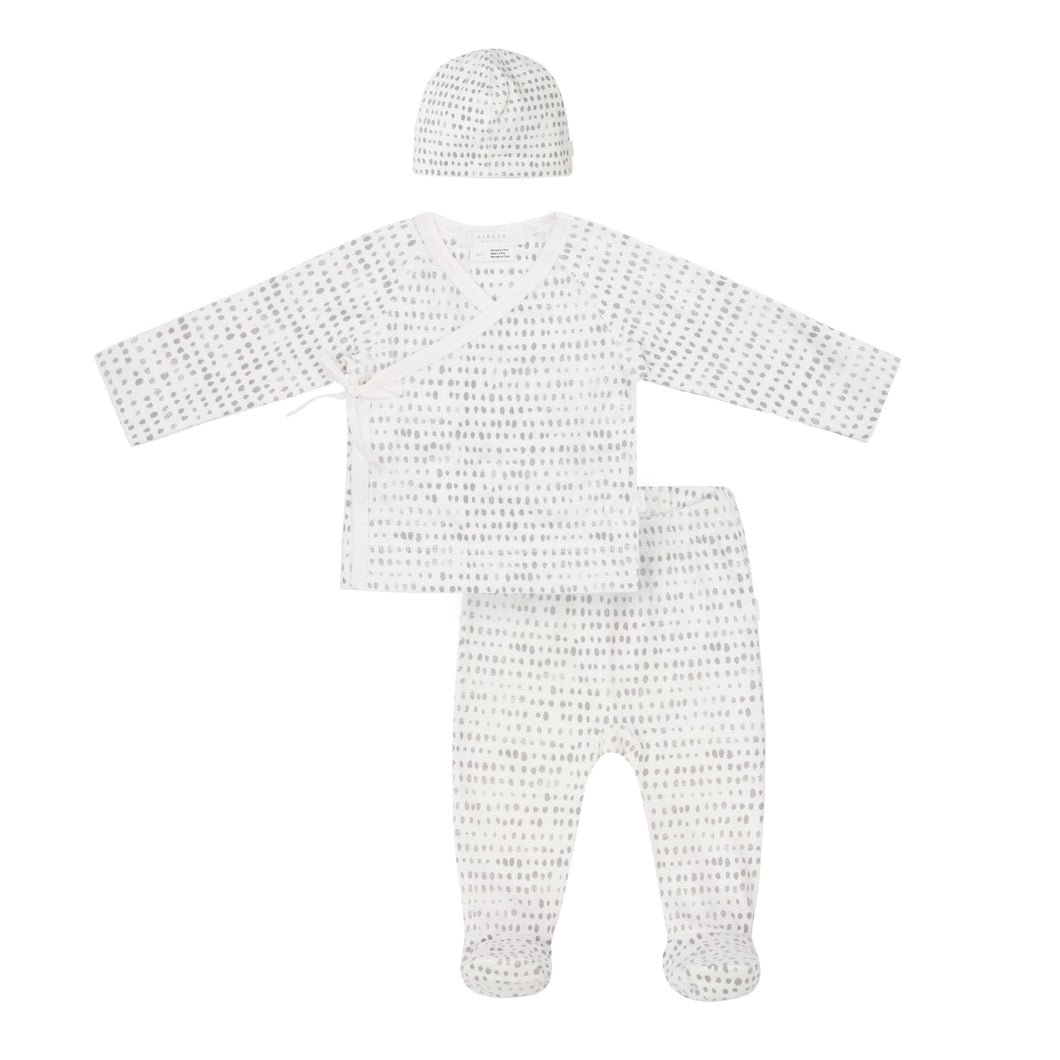 Petit Lem Newborn Set - Grey - Bloom Kids Collection - Petit Lem