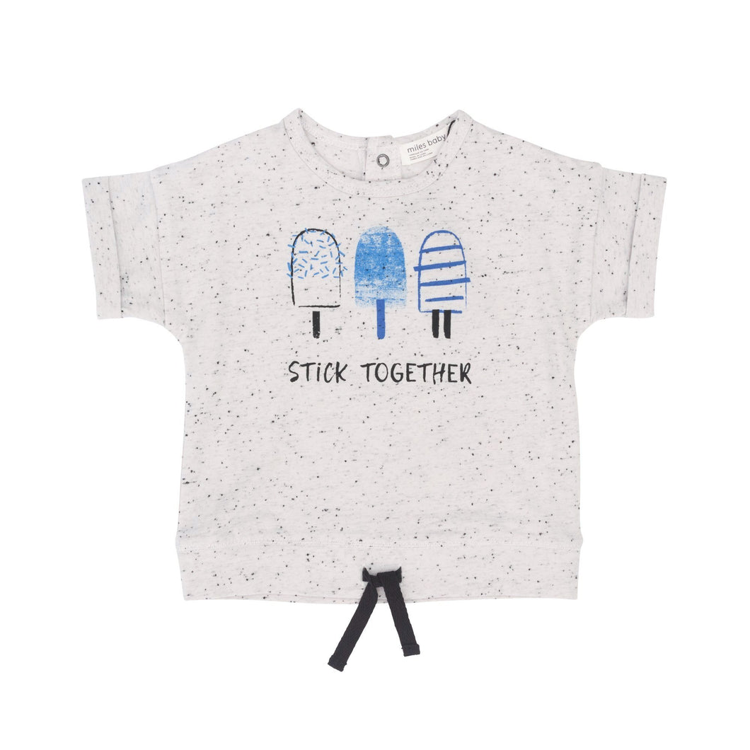 Miles Baby Stick Together Tee - Bloom Kids Collection - Miles Baby