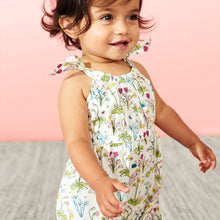 Tea Collection Shoulder Tie Romper - Bloom Kids Collection - Tea Collection