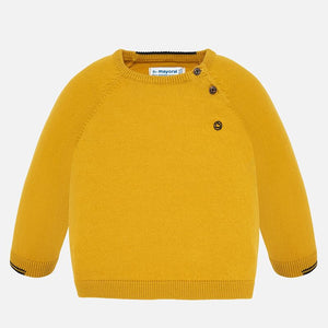Mayoral Basic Cotton Sweater - Corn - Bloom Kids Collection - Mayoral