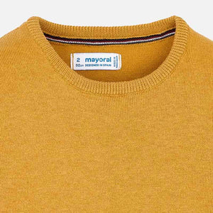Mayoral Basic Cotton Sweater - Caramel - Bloom Kids Collection - Mayoral