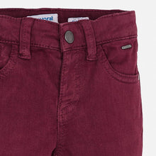Mayoral 5 Pocket Slim Fit Basic Pant - Beetroot - Bloom Kids Collection - Mayoral