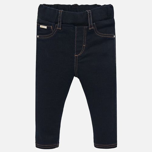 Mayoral Baby Basic Denim Pants - Super Dark Denim