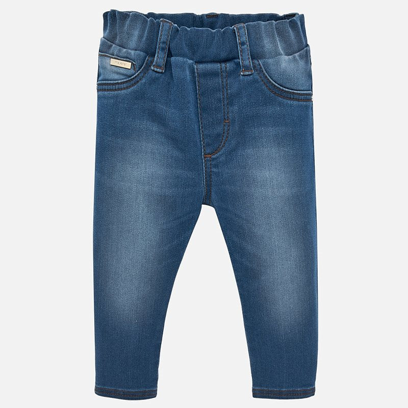 Mayoral Basic Denim Pants - Soft Denim - Bloom Kids Collection - Mayoral