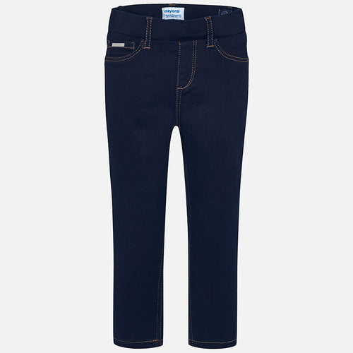 Mayoral Basic Denim Pants - Super Dark Denim
