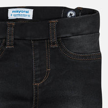 Mayoral Basic Denim Pants - Black - Bloom Kids Collection - Mayoral