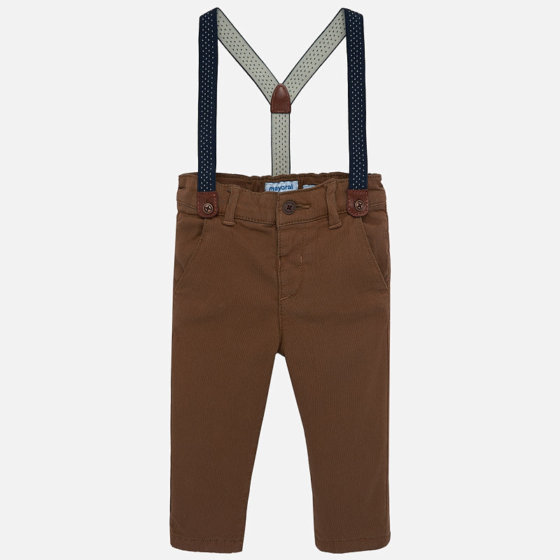 Mayoral Chino Pants - Brown