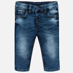 Mayoral Soft Denim Pants - Bloom Kids Collection - Mayoral