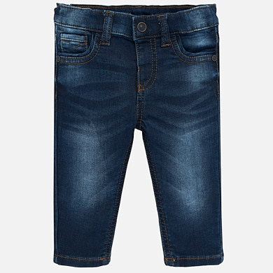 Mayoral Soft Denim Pants - Dark Denim - Bloom Kids Collection - Mayoral