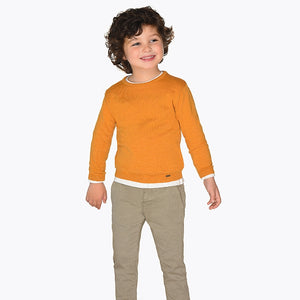 Mayoral Printed Pants - Stone - Bloom Kids Collection - Mayoral