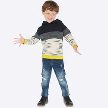 Mayoral Demim Ripped Pants - Dark Denim - Bloom Kids Collection - Mayoral