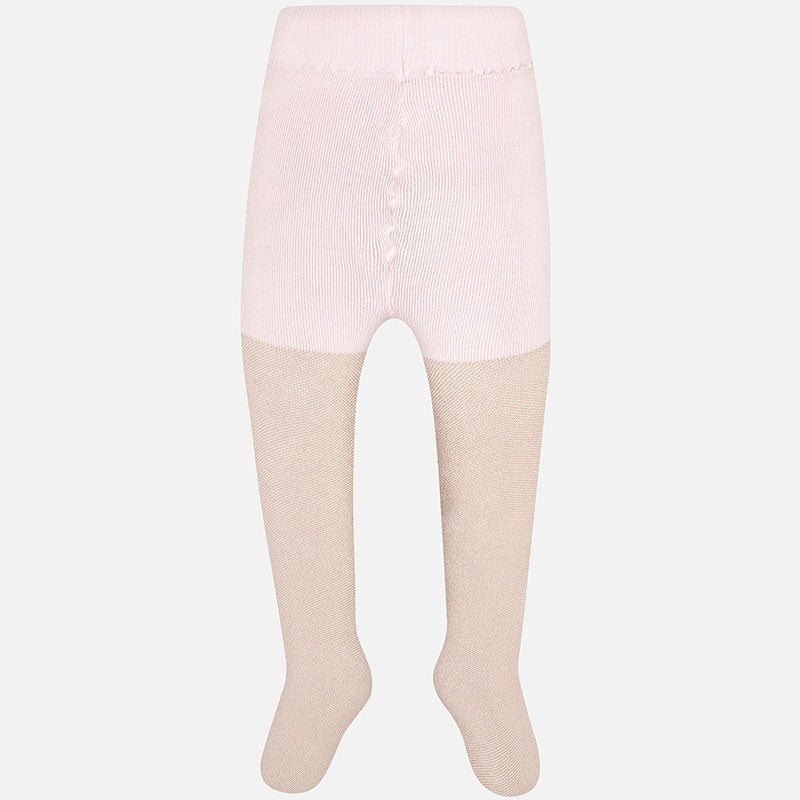 Mayoral Tights - Metallic Nude - Bloom Kids Collection - Mayoral