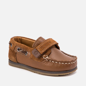 Mayoral Velcro Nautical Shoes - Camel - Bloom Kids Collection - Mayoral