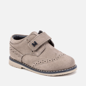Mayoral Blucher Shoe with Velcro - Sand - Bloom Kids Collection - Mayoral