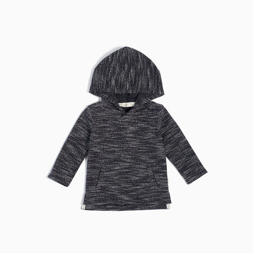 Miles Baby Navy Reverse Space Dye Hoodie - Bloom Kids Collection - Miles Baby