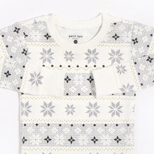 Petit Lem Unisex Holiday Pajamas - Snowflake - Bloom Kids Collection - Petit Lem