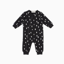 "Miles Baby ""The Basics"" Play Blocks Playsuit - Black"
