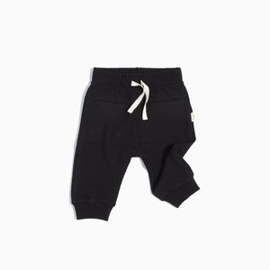 Miles Baby Knit Basic Joggers - Black - Bloom Kids Collection - Miles Baby