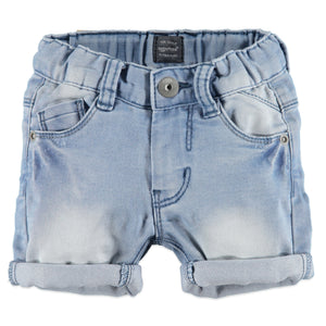 Babyface Boys Jean Shorts  - Blue Denim - Bloom Kids Collection - Babyface