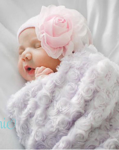 Infanteenie Beenie Our Lil Rose Newborn Hat - Bloom Kids Collection - Infanteenie Beenie