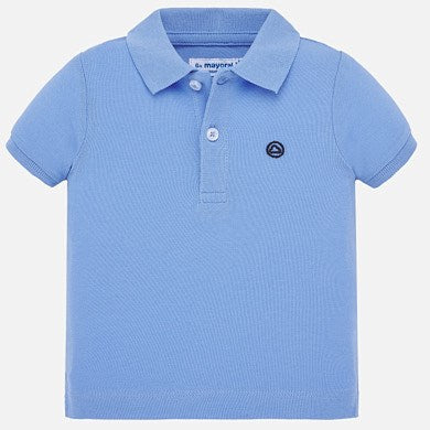 Mayoral Baby Boys Polo - Light Blue