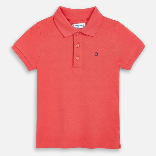 Mayoral Boys Polo - Coral - Bloom Kids Collection - Mayoral