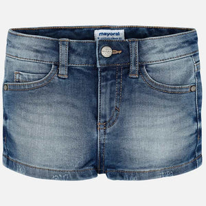 Mayoral Girls Basic Denim Shorts - Bloom Kids Collection - Mayoral