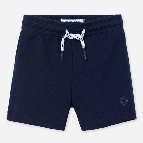 Mayoral Baby Boy Fleece Shorts - Navy - Bloom Kids Collection - Mayoral