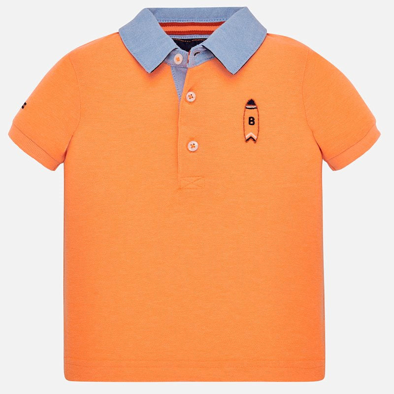 Mayoral Baby Boy Embroidered Polo