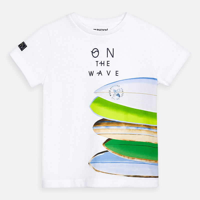 Mayoral On the Wave Tee - Bloom Kids Collection - Mayoral
