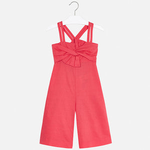 Mayoral Girls Jumpsuit - Watermelon - Bloom Kids Collection - Mayoral