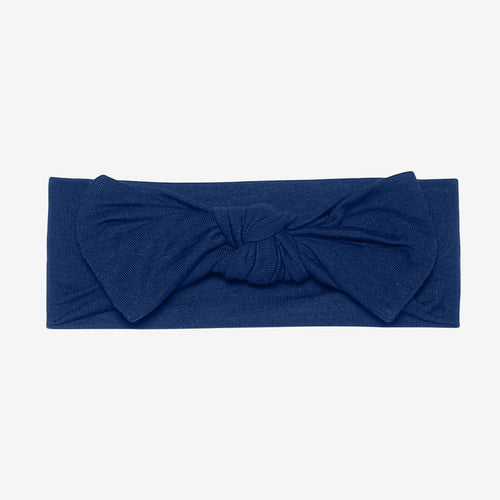 Posh Peanut Infant Headwrap - Sailor Blue