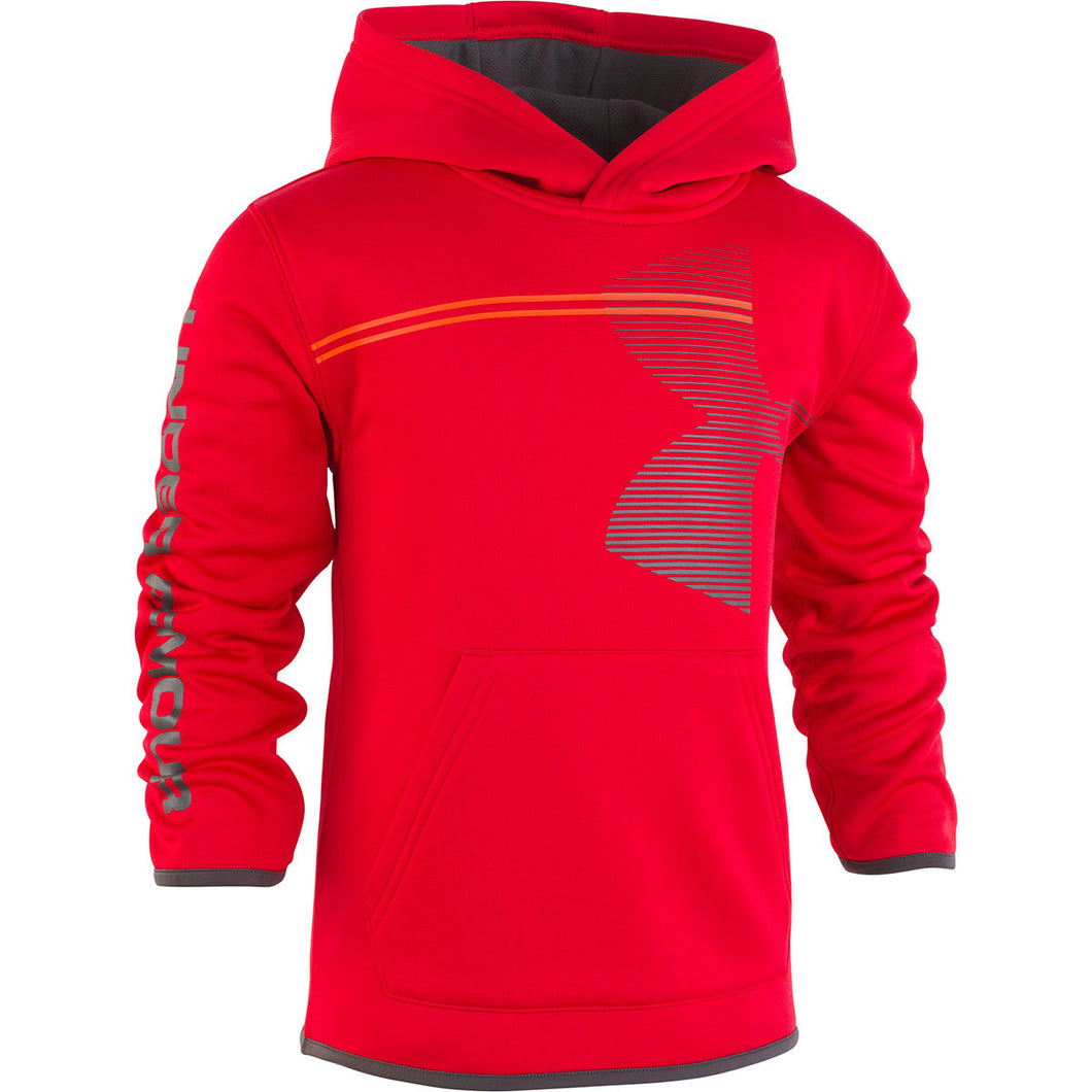 Under Armour Toddler Zoom Big Logo Hoody - Red - Bloom Kids Collection - Under Armour