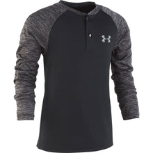 Under Armour Toddler Raglan Henley - Black