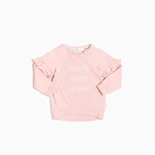 Miles Baby Sunny Days Ahead Crewneck - Light Pink - Bloom Kids Collection - Miles Baby