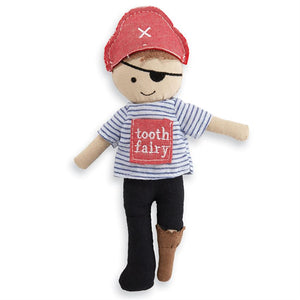 Mud Pie Pirate Tooth Fairy Doll - Bloom Kids Collection - Mud Pie